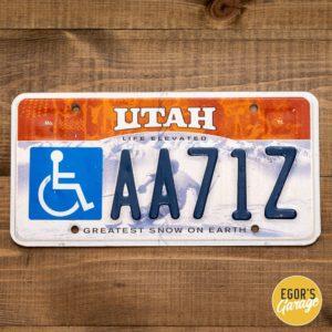Номер из Юты - инвалид