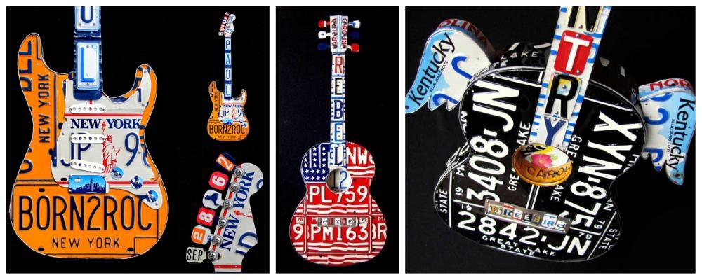 Примеры гитар Питера Гейгера