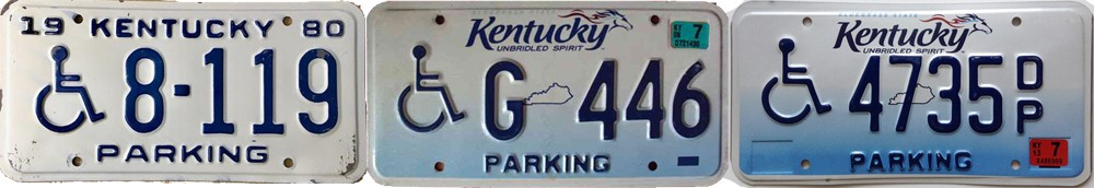 Номерные знаки штата Кентукки