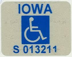 Наклейка Iowa