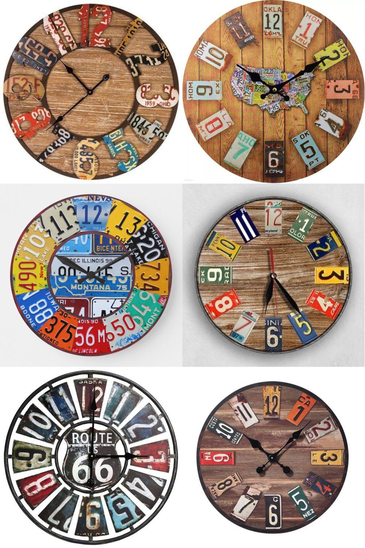 Часы из нескольких номеров
