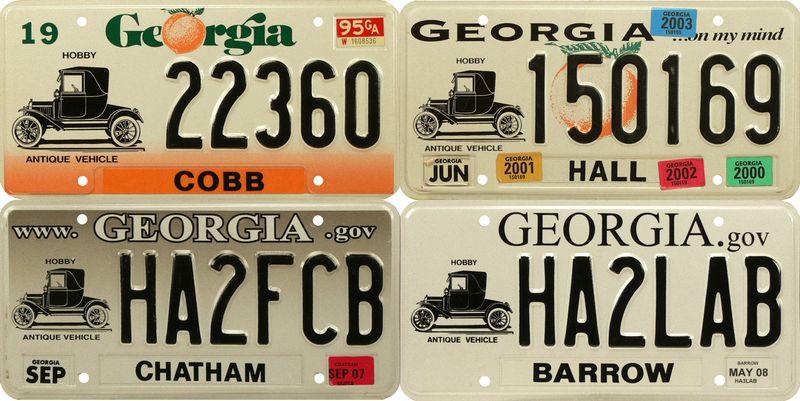 Античные номера Джорджии