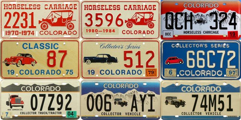 Колорадо - номера с тачками