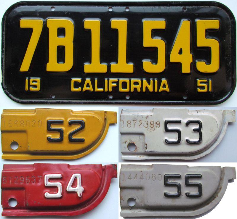 Калифорния 1951-1955