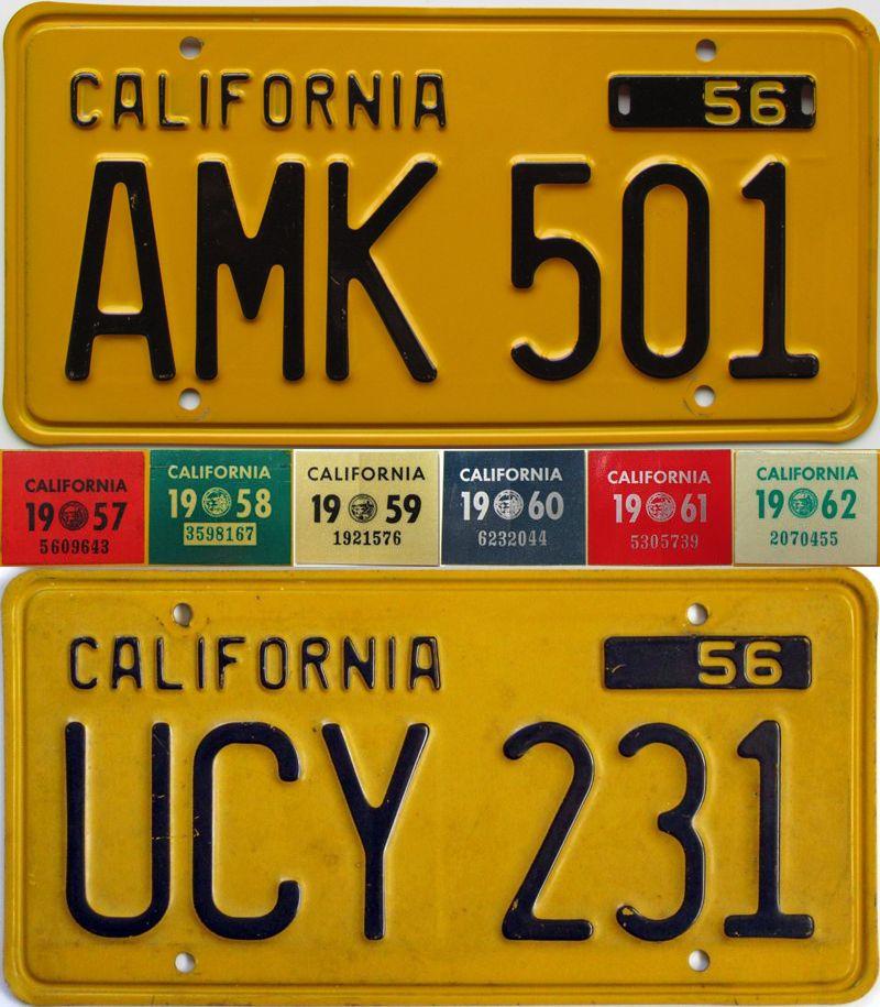 Калифорния 1956-1962