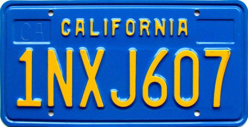 Калифорния 1981