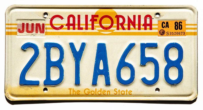 Калифония Golden State 1986