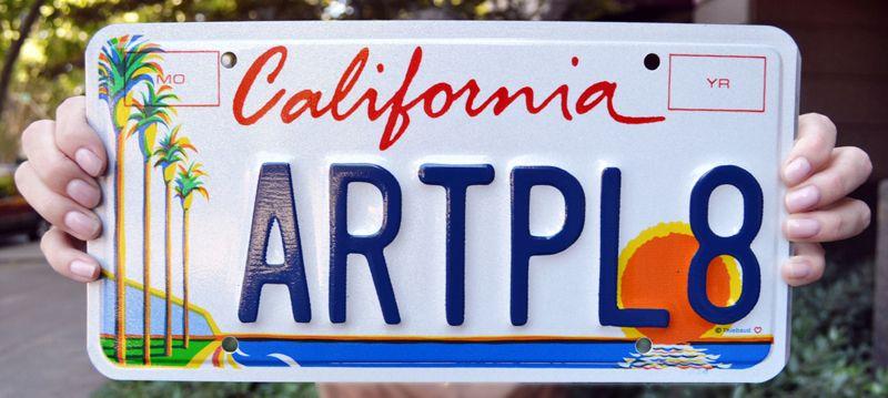 Калифорнийская пластина Arts Council