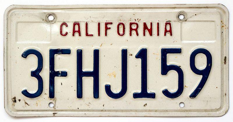 Калифорния 1987