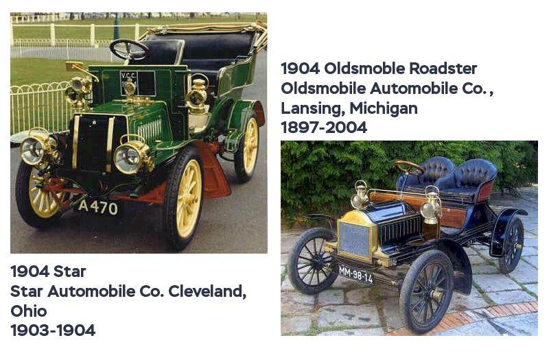 Американские автомобили 1904 года