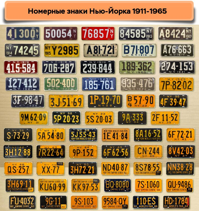 Нью-Йорк 1911-1965