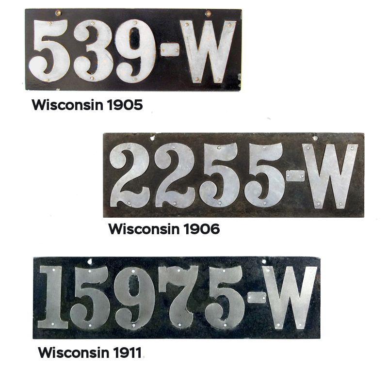 Разновидности Висконсина 1906-1911