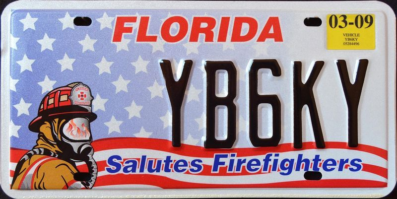 Салют огнеборцам Флориды