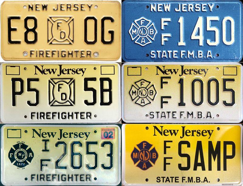 Огнеборческие пластины Нью-Джерси