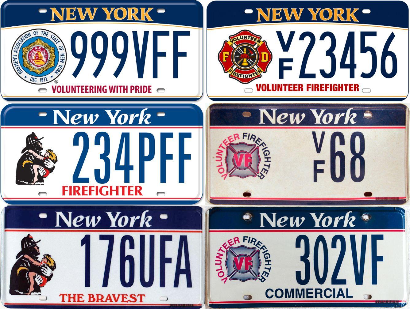 Современные пожарные номера Нью-Йорка