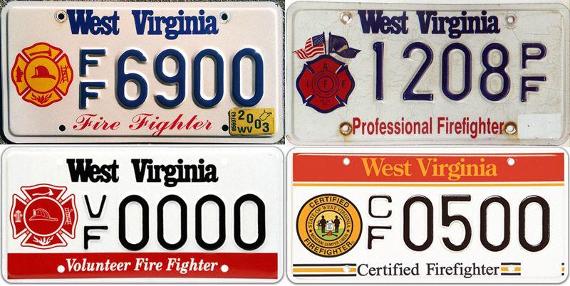 Интересные номерные знаки Западной Вирджинии