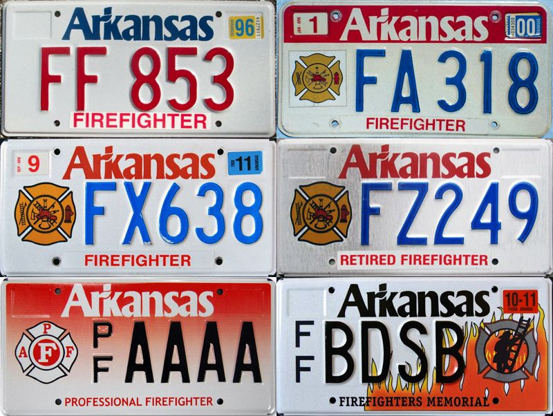 Специальные номера Арканзаса