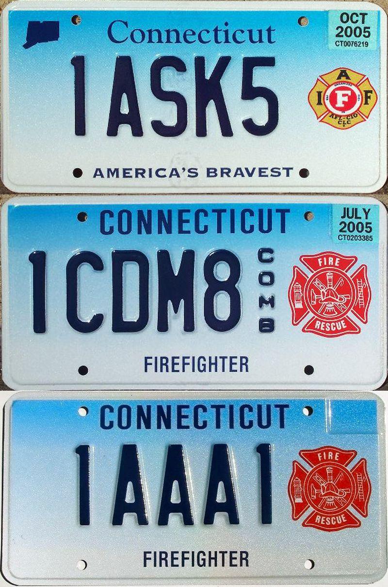 Пожарные номера Коннектикута