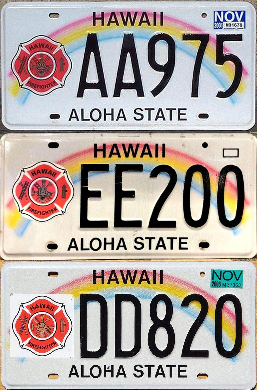 Специальные номерные знаки Гавайев