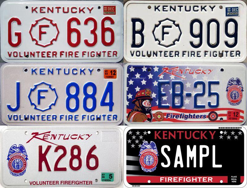 Разнообразие пожарных знаков Кентукки