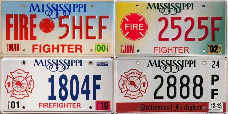 Миссисипи - пластины огнеборцев