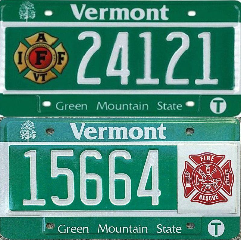 Зелёные пластины Вермонта