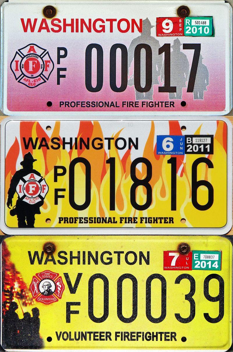 Яркие пластины Вашингтона