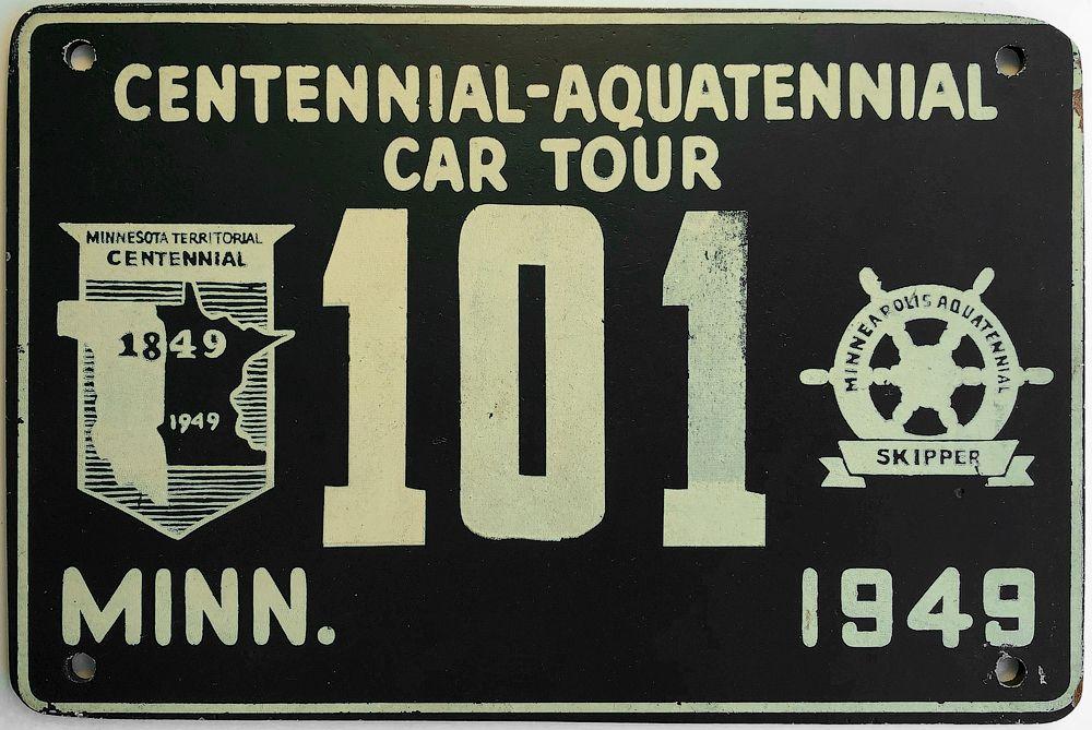 Плоский номер Миннесоты 1949 года