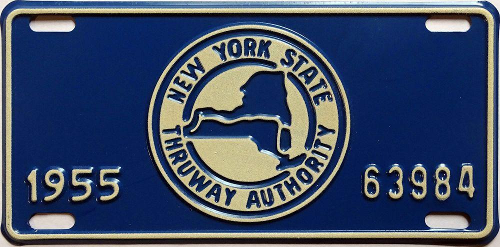 Особая пластина Нью-Йорка 1955