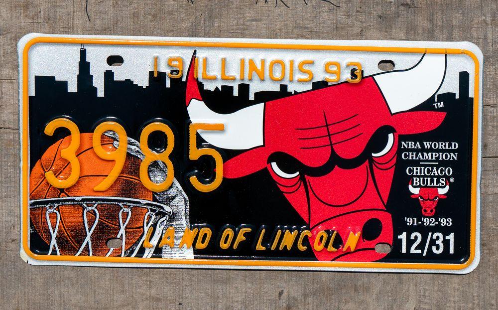 Chicago Bulls plate